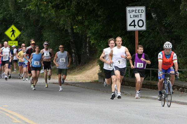 7697 Bill Burby 5k-10k race 2009