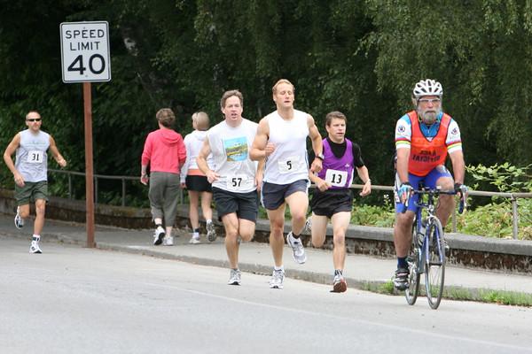7698 Bill Burby 5k-10k race 2009