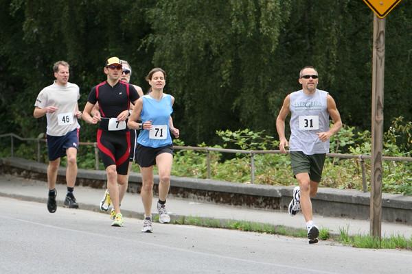 7700 Bill Burby 5k-10k race 2009