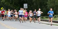 7701 Bill Burby 5k-10k race 2009