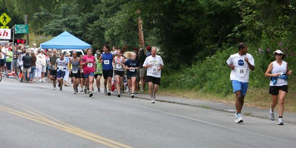 7744 Bill Burby 5k-10k race 2009