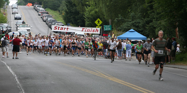 7745 Bill Burby 5k-10k race 2009