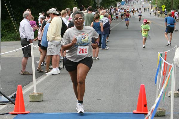 8021 Bill Burby 5k-10k race 2009