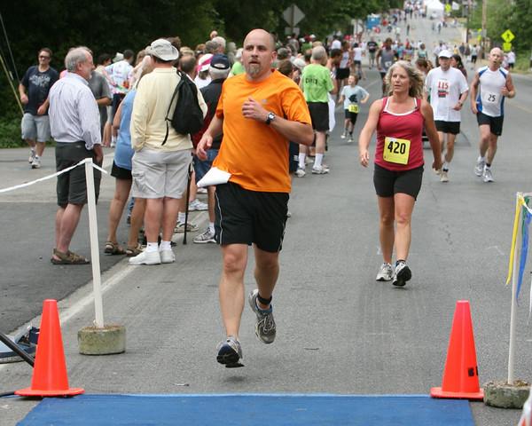 8027 Bill Burby 5k-10k race 2009