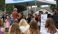 8057 Vashon Youth String Orchestra at the Green Stage 2010
