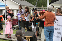 8066 Vashon Youth String Orchestra at the Green Stage 2010