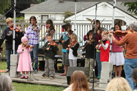 8068 Vashon Youth String Orchestra at the Green Stage 2010