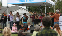 8070 Vashon Youth String Orchestra at the Green Stage 2010