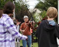 8074 Vashon Youth String Orchestra at the Green Stage 2010