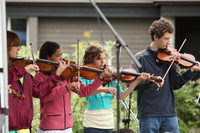 8079 Vashon Youth String Orchestra at the Green Stage 2010