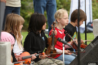 8080 Vashon Youth String Orchestra at the Green Stage 2010