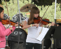 8092 Vashon Youth String Orchestra at the Green Stage 2010