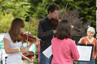 8093 Vashon Youth String Orchestra at the Green Stage 2010