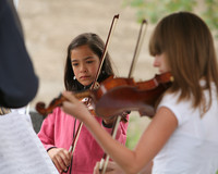 8099 Vashon Youth String Orchestra at the Green Stage 2010