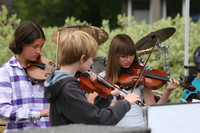 8116 Vashon Youth String Orchestra at the Green Stage 2010