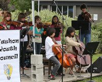 8121 Vashon Youth String Orchestra at the Green Stage 2010