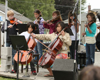 8126 Vashon Youth String Orchestra at the Green Stage 2010
