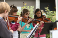 8134 Vashon Youth String Orchestra at the Green Stage 2010