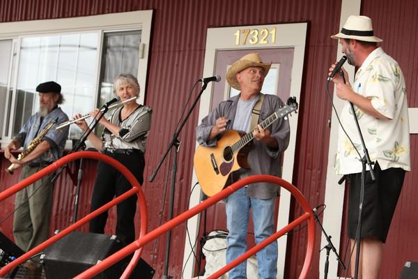 8182 Not The Church of Great Rain House Band at Pandoras Box 2010