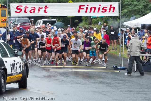 6280 Bill Burby 5-10K race 2011