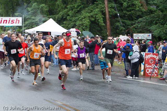 6286 Bill Burby 5-10K race 2011