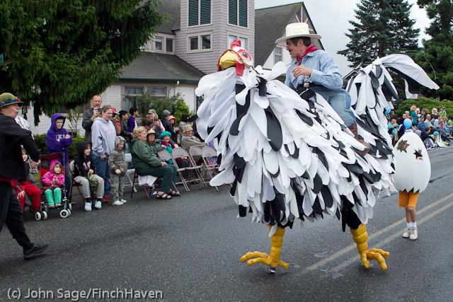 7014 Strawberry Festival Grand Parade 2011
