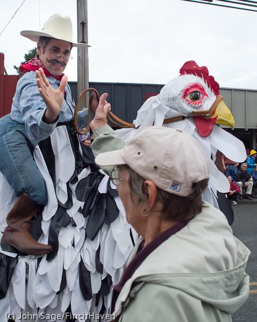7026 Strawberry Festival Grand Parade 2011