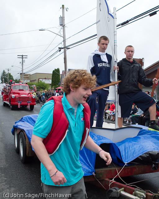 7469 Strawberry Festival Grand Parade 2011