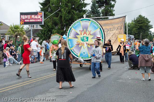 7633 Strawberry Festival Grand Parade 2011