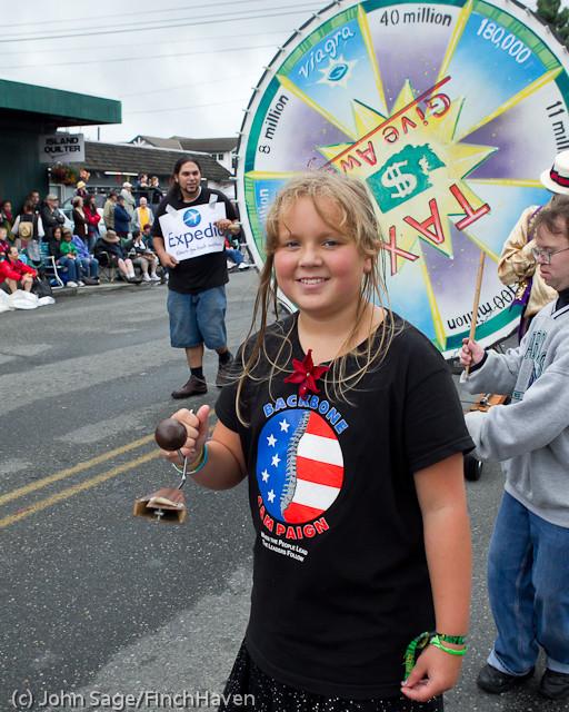7639 Strawberry Festival Grand Parade 2011