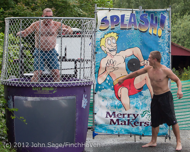 2154 VHS Pirates Football Dunk Tank Sunday 2012