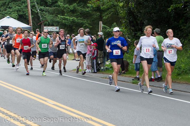 6923 Bill Burby 5-10K race 2012