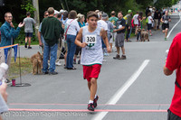 7128 Bill Burby 5-10K race 2012