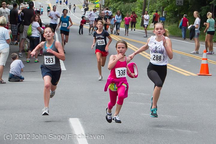 7203 Bill Burby 5-10K race 2012