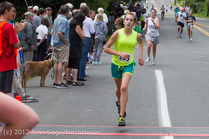 7226 Bill Burby 5-10K race 2012