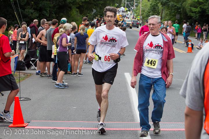 7500 Bill Burby 5-10K race 2012