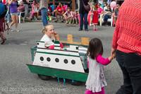 7663 Strawberry Festival Kids Parade 2012