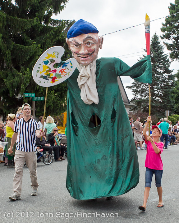 7833 Strawberry Festival Grand Parade 2012