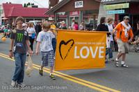 8025 Strawberry Festival Grand Parade 2012