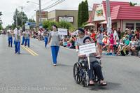 8083 Strawberry Festival Grand Parade 2012