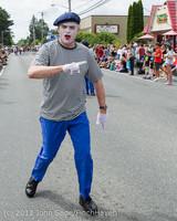 8097 Strawberry Festival Grand Parade 2012