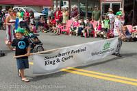 8119 Strawberry Festival Grand Parade 2012