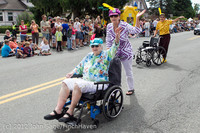 8134 Strawberry Festival Grand Parade 2012