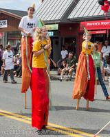 8273 Strawberry Festival Grand Parade 2012
