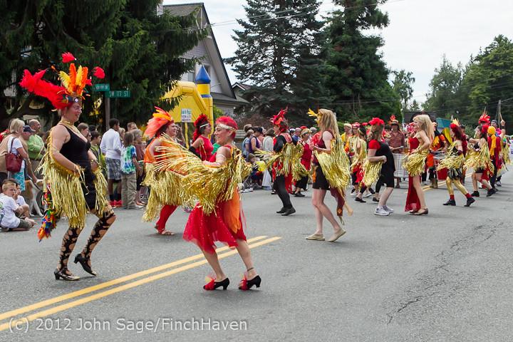 8297 Strawberry Festival Grand Parade 2012