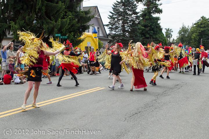 8299 Strawberry Festival Grand Parade 2012